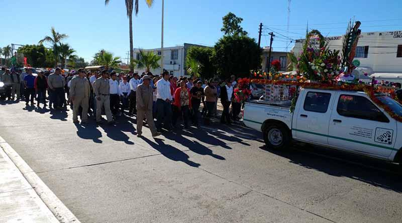 Realiza SAPA La Paz tradicional peregrinación