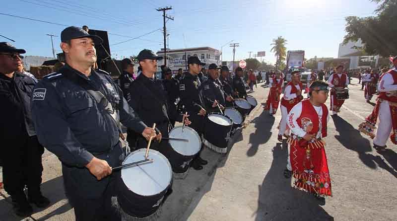 Se llevó a cabo la tradicional peregrinación de los Cuerpos de Seguridad