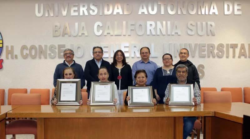 CONACyT entrega reconocimientos a 4 posgrados de la UABCS por sus altos  estándares de calidad