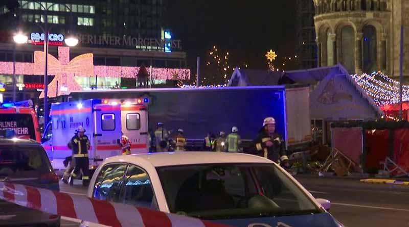 Mueren al menos nueve personas en atentado en Berlín