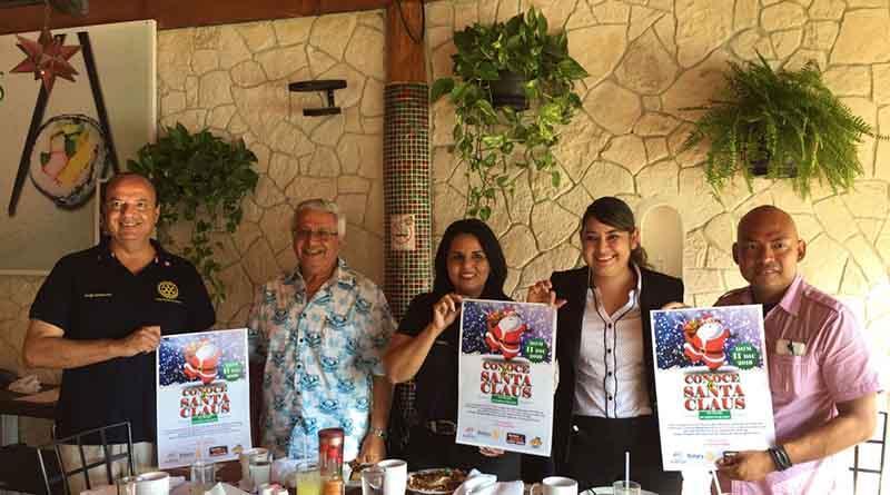¡Club Rotario Los Cabos trae a Santa Claus para ti!