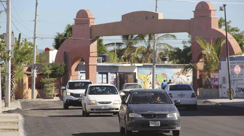 Se abre a la circulación la calle Misión de Santiago, luego de efectuarse trabajos de re-encarpetado