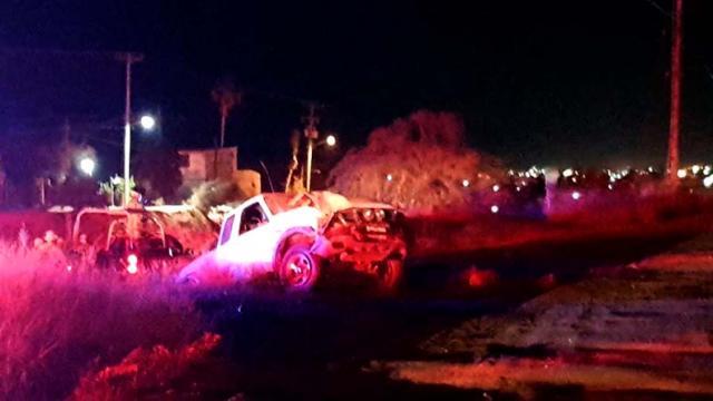 Muere aplastado conductor tras volcadura en SJC