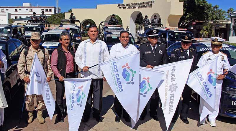 Inician operativo en Los Cabos190 elementos de la gendarmería: de la Rosa