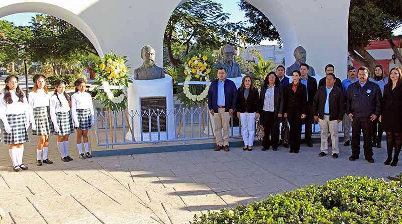 Conmemora Gobierno Municipal 187 Aniversario del Natalicio de Don Ildefonso Cipriano Green Ceseña