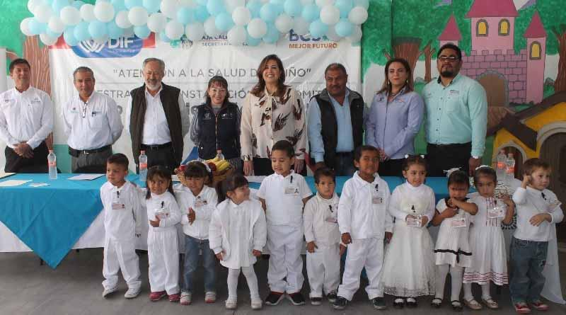 Instala SDIF en BCS comité de atención a la salud del niño en centro de atención infantil de La Paz