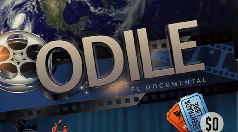 Este 2017 llega Odile el Documental,  a la sala del Cine Club en única presentación
