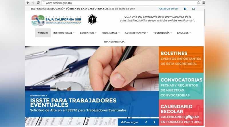 Moderniza secretaría de educación pública su página web