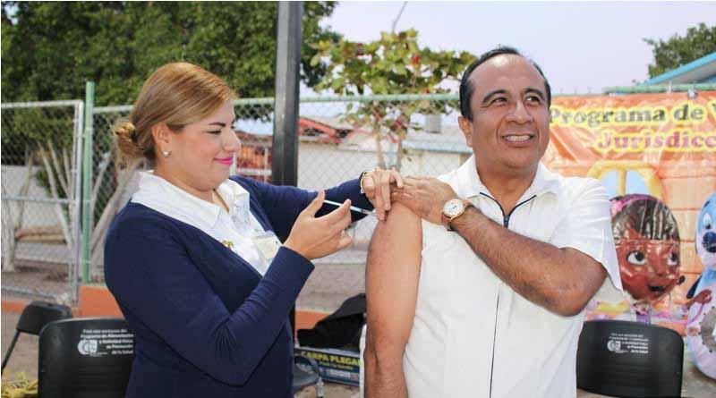 Avance de 71 por ciento en aplicación de vacuna contra influenza