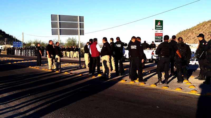 Termina Gobierno de BCS bloqueo de trailers en La Paz, ya hay paso para mercancías y combustibles