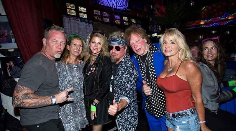 Sammy Hagar reúne a rockstars en Cabo Wabo