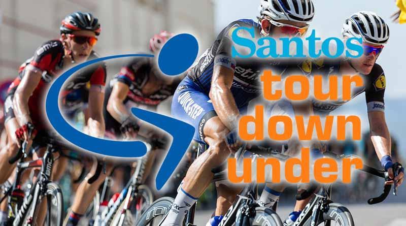 Ciclista Richie Porte mantiene liderato en Santos Tour Down Under 2017