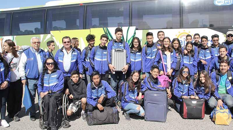 Viajan deportistas paceños a la Olimpiada Estatal en Los Cabos