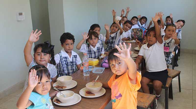 Estamos comprometidos en contribuir en la sana alimentación de los niños del estado: GVM
