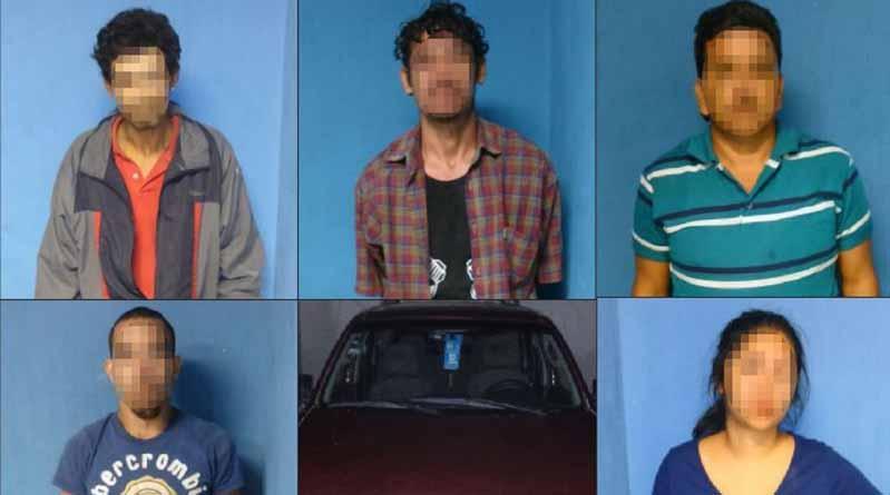 Detiene Mando Mixto a 5 personas en posesión de diversas drogas