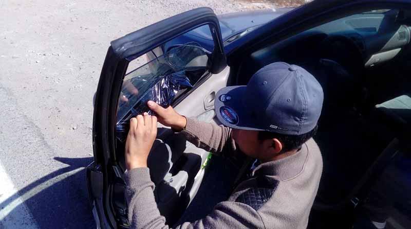 No más vidrios polarizados en los vehículos del gobierno estatal y de sus trabajadores: Carlos Alfredo Godinez León