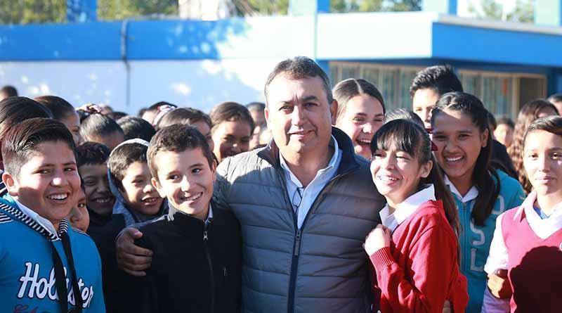 Anuncia Alcalde Francisco Pelayo Tabletas Electrónicas a Estudiantes Con Mejores Promedios