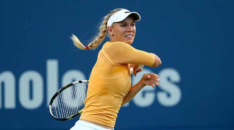"""Tenista Wozniacki sufre revés en """"cuartos"""" del Abierto de Auckland"""