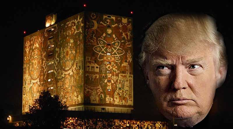 Académicos de la UNAM analizan discurso inaugural de Donald Trump