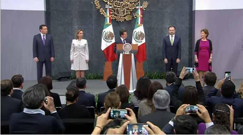 Peña Nieto nombra a Luis Videgaray como nuevo secretario de Relaciones Exteriores
