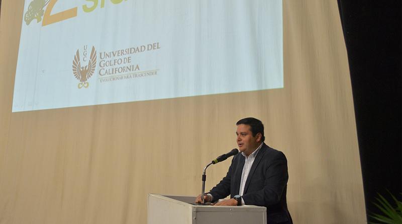 Delegado municipal preside 2do. Encuentro de nutrición en el siglo XXI de la Universidad del Golfo de California
