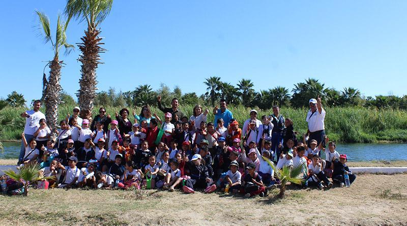 Fueron 70 niños de Cabo San Lucas a recorrer el Estero Josefino