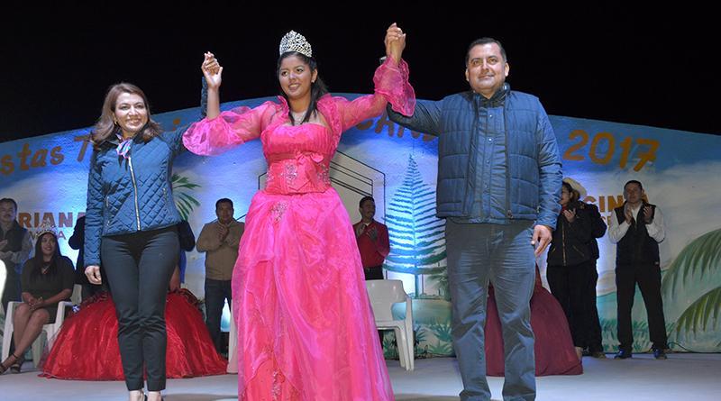 """Adriana I Reina de las fiestas tradicionales  """"La Candelaria 2017"""""""
