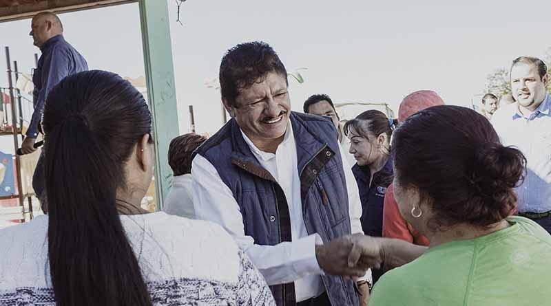 Alcalde de La Paz realiza gira de trabajo por zona rural