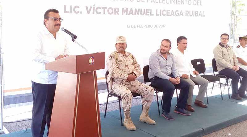 Recuerda el Gobierno del Estado a Víctor Manuel Liceaga Ruibal a cinco años de su fallecimiento