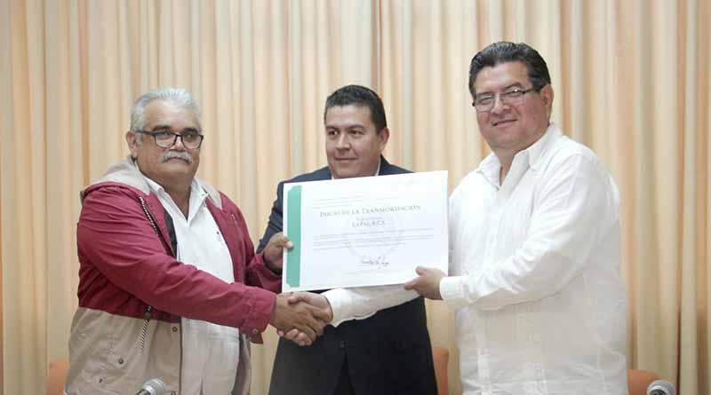 """Ayuntamiento de La Paz recibe reconocimiento del programa """"Agenda para el Desarrollo Municipal"""""""
