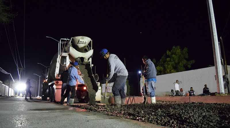 En marcha el Programa Estatal de Pavimentación