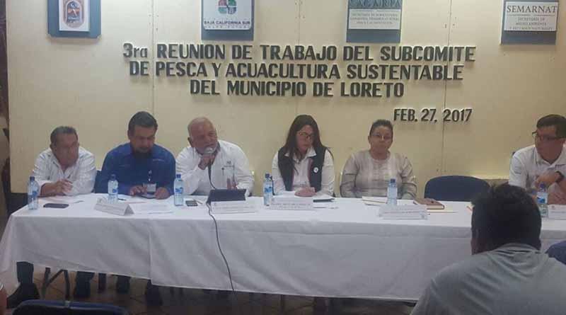 Participa FGR en reunión del subcomité de pesca y acuacultura sustentable de Loreto