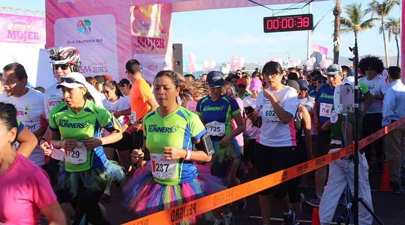 Preparan la 3ra Carrera Atlética de la Mujer 5 y 10k en La Paz