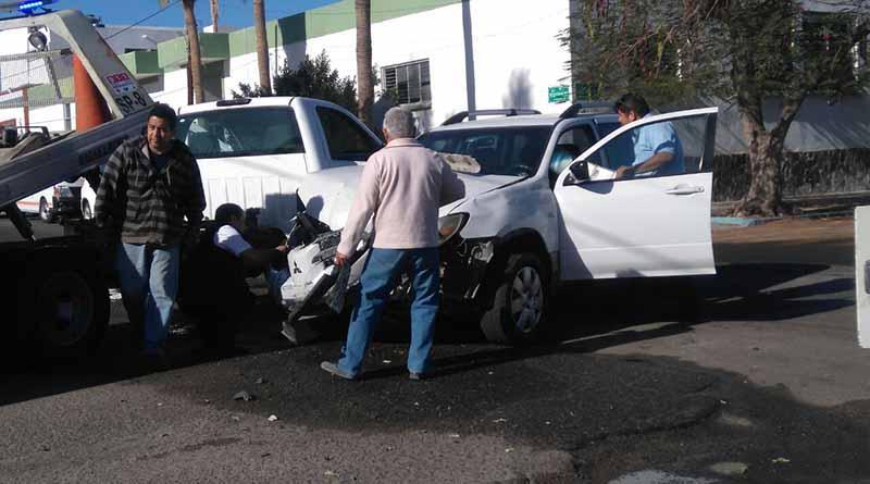 La Paz comienza el día con múltiples accidentes de tránsito