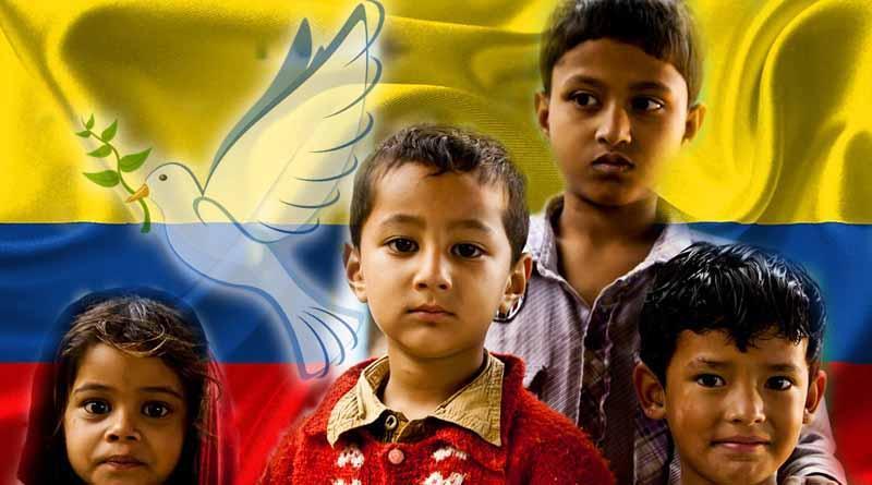 Niños guerrilleros esperan verdadera paz para Colombia