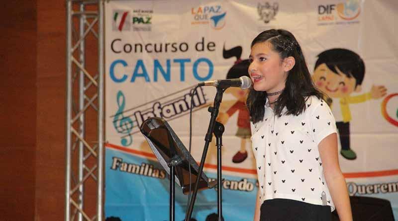 "Realiza DIF Municipal, Gran final del concurso ""Cantando por La Paz Que Queremos"""