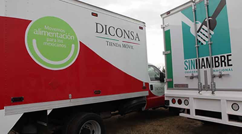 Reportan en CSL robo de vehículo de Diconsa con 300 mil pesos