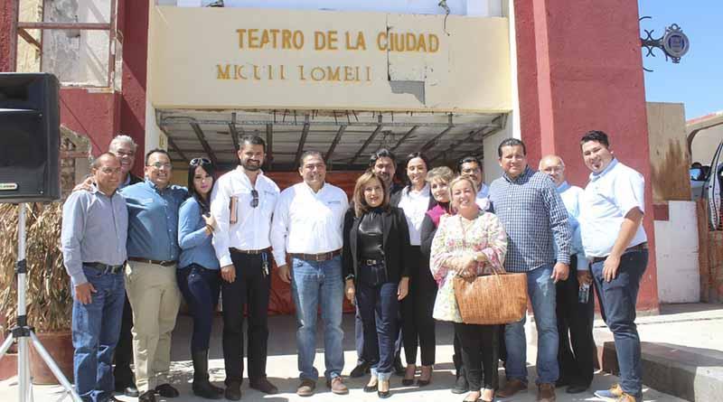 Día histórico para SJC, inicia remodelación del Teatro Miguel Lomelí y de Casa de Cultura: Alan Castro