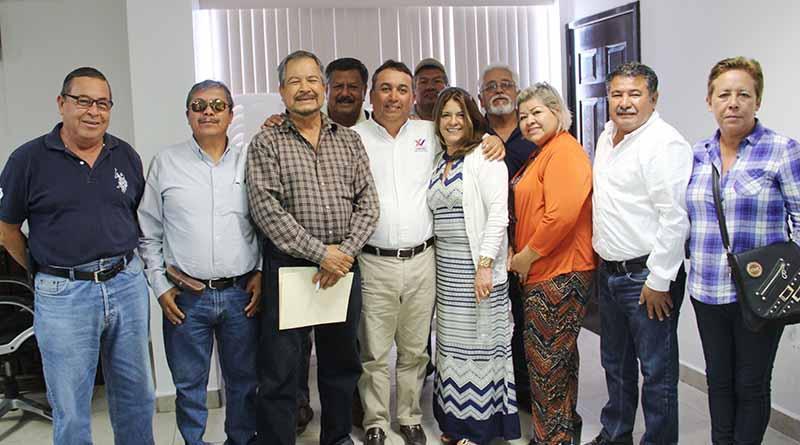 Asociación de Pensionados y Jubilados Reconocen Esfuerzo y Voluntad del Alcalde Francisco Pelayo
