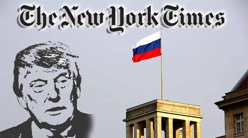 The New York Times pide investigar vínculos de Trump con Rusia