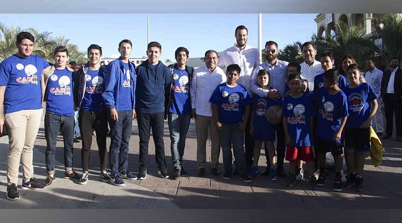 """Niños agradecen al presidente municipal por su apoyo para el campamento """"PURE ADVANTAGE SKILLS LOS CABOS"""""""