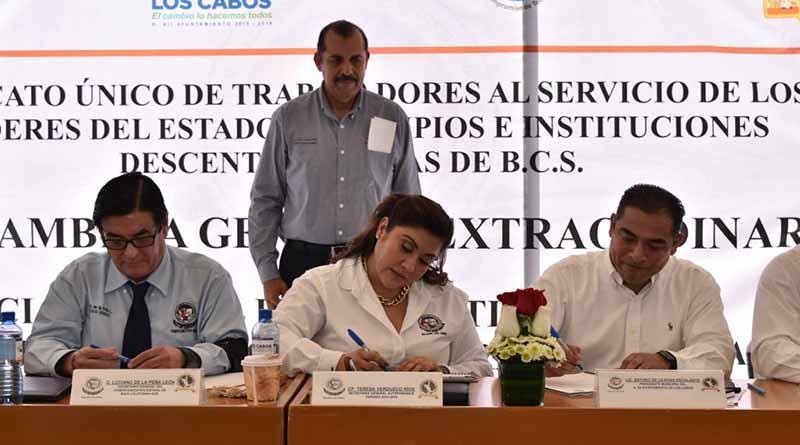 Resuelve gobierno de Los Cabos tema de bases sindicales