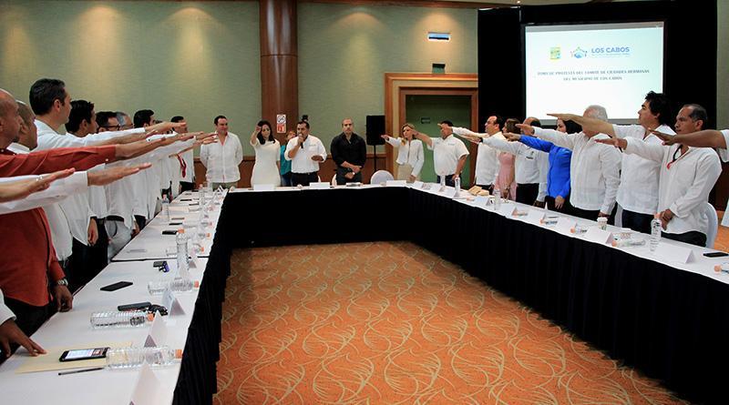 Queda integrado el comité de ciudades hermanas de Los Cabos