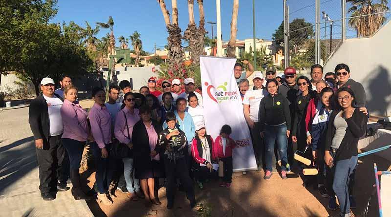 Gobierno de los Cabos y  tiendas de conveniencia trabajan en la rehabilitación de parques
