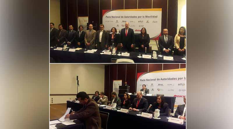 Firma gobierno de Los Cabos pacto nacional de autoridades por la movilidad