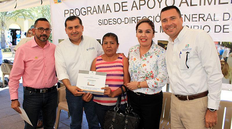 Entregan Gobierno Municipal y estatal 900 apoyos alimentarios a familias con situación vulnerable