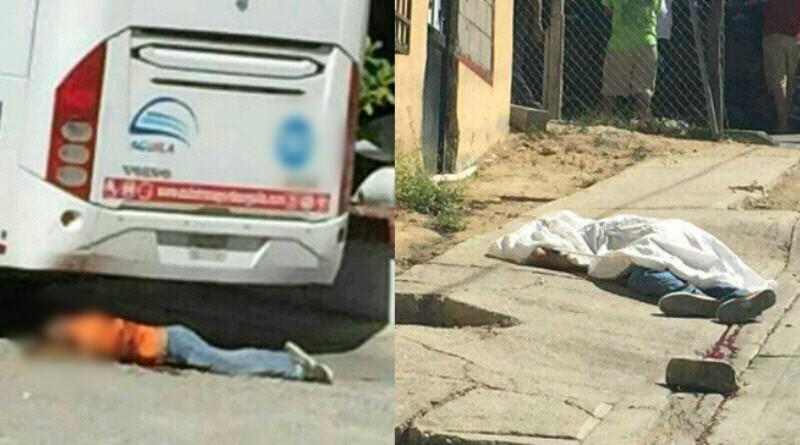 Matan a dos a balazos en zona centro de San José del Cabo, uno en la central de camiones