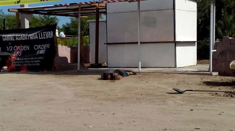 Atacan a tiros a dos hombres en La Paz, uno murió
