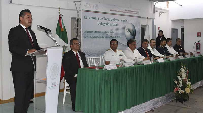 Jonathan Silva López, nuevo Delegado de la PGR en Baja California Sur