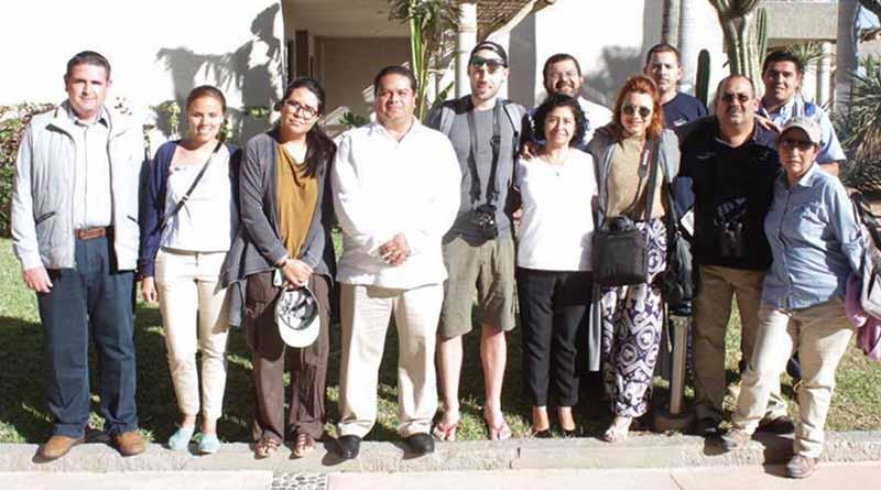 Se recibió la visita de los You Tubers: Mike Corey y Priscila Álvarez en Los Cabos